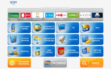 Киви кошелек в Казахстане